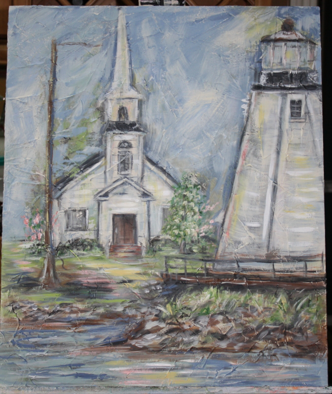 Children's Harbor Church at Lake Martin | Sherry Averitt Art