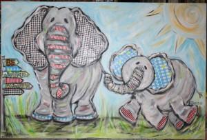 Joyful Elephants